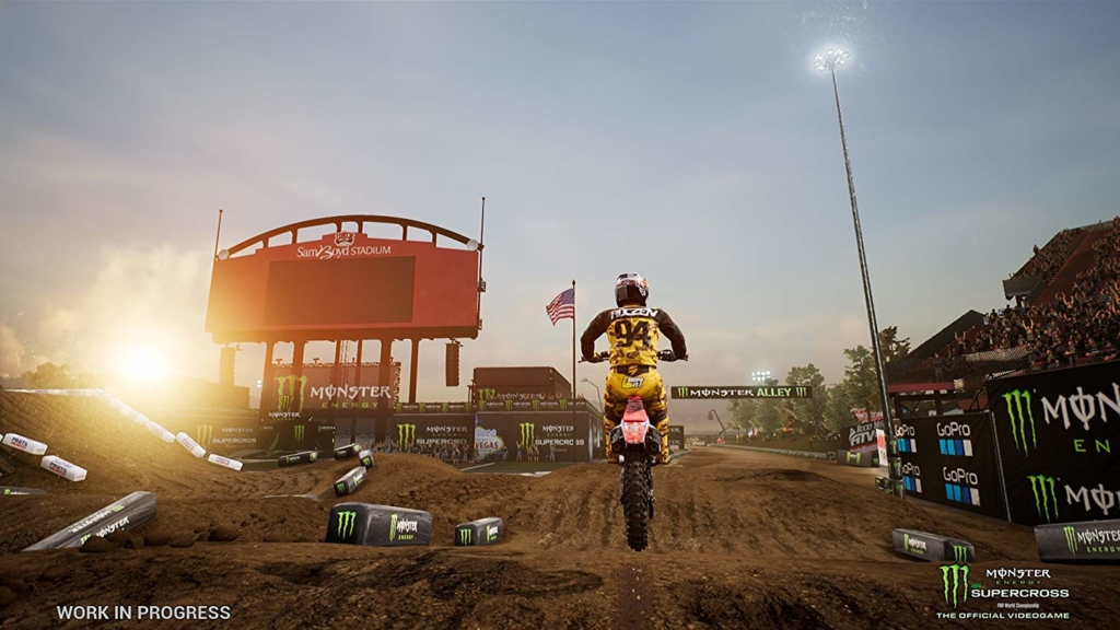 MONSTER Energy Supercross The official video game